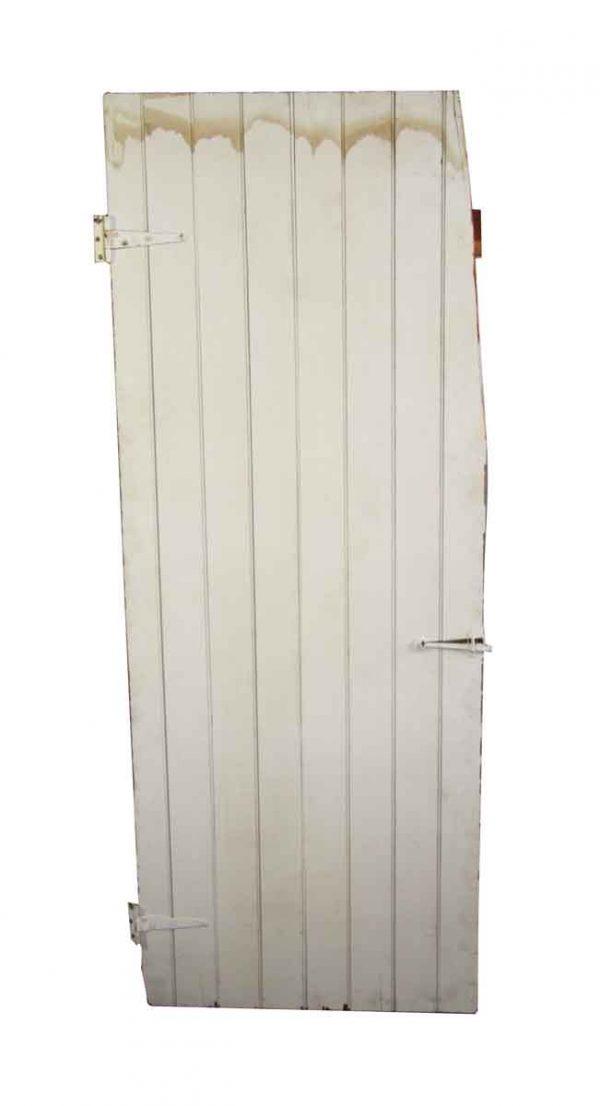 Specialty Doors - Antique White Barn Door 71.5 x 27.5