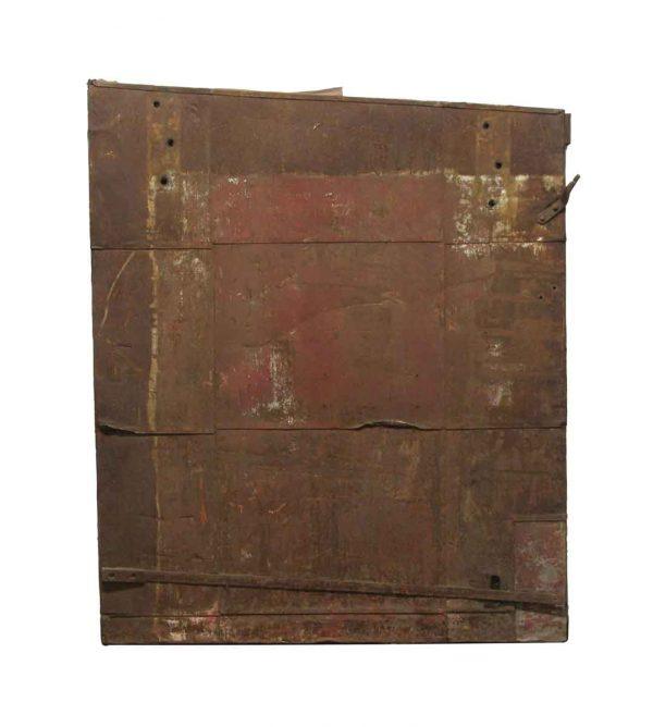 Specialty Doors - Industrial Metal Fire Door with Sloping Top 58.5 x 48