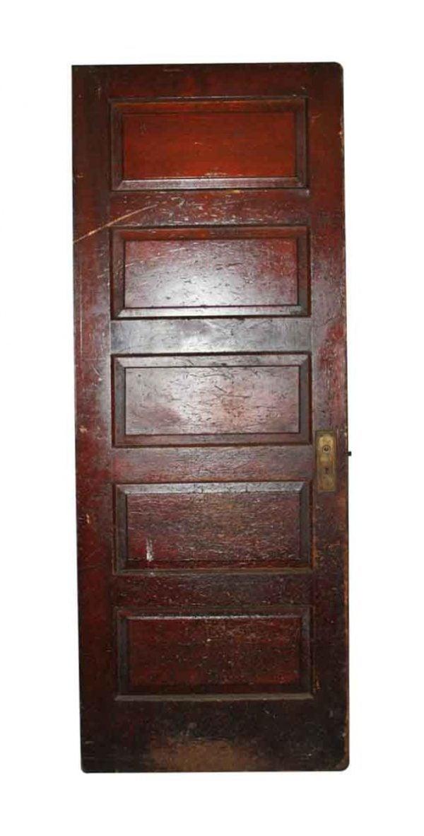Standard Doors - 5 Panel Oak Antique Passage Door 79 x 32.75