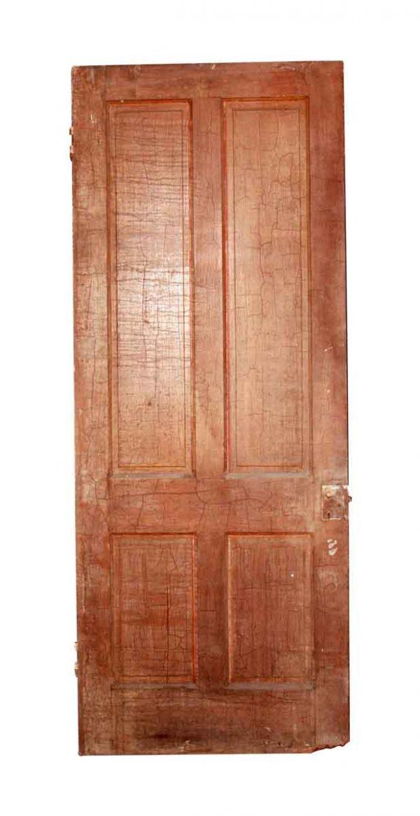 Standard Doors - Antique 4 Panel Interior Door 79 x 32