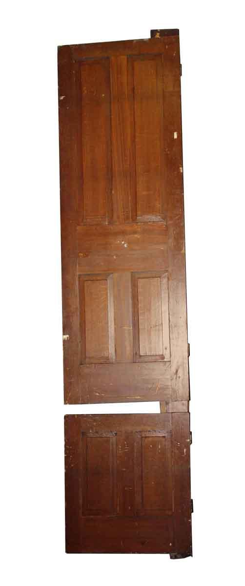 Standard Doors - Antique Door with 6 Vertical Panels 103.25 x 25