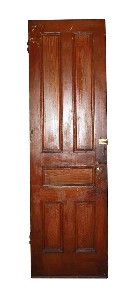 Standard Doors - Antique Victorian 5 Panel Oak Door 85 x 25.75