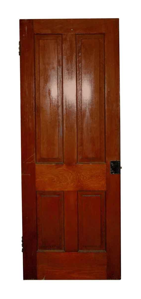 Standard Doors - Four Vertical Panel Antique Door 77 x 30