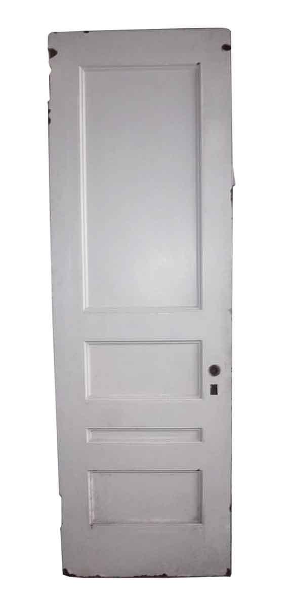 Standard Doors - Narrow 4 Panel Antique Interior Door 87 x 28