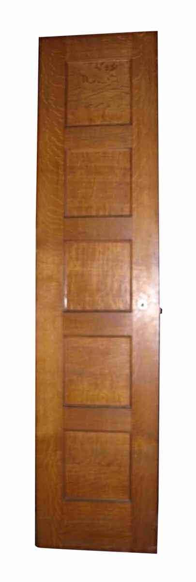 Standard Doors - Narrow Tiger Oak 5 Panel Passage Door 83.625 x 24