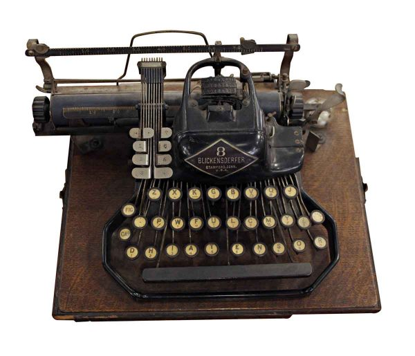 Typewriters - Blickensderfer No. 8 Typewriter