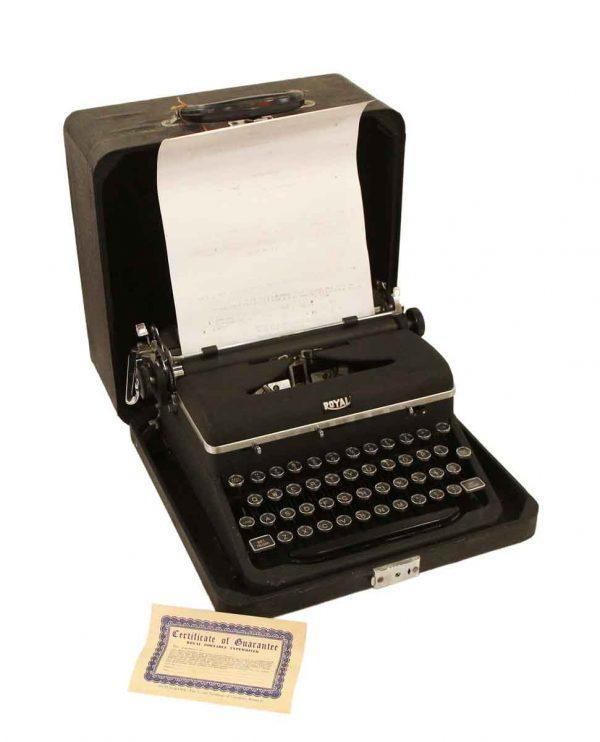 Typewriters - Royal Vintage Typewriter 1