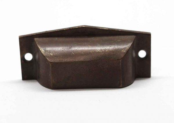 Cabinet & Furniture Pulls - Antique 3 in. Brass Drawer Bin Pull