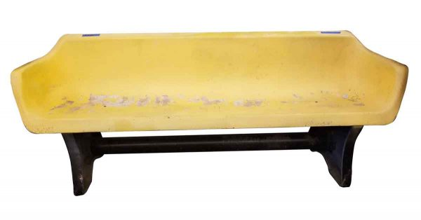 Commercial Furniture - Yellow Fiberglass 6 ft. Bench