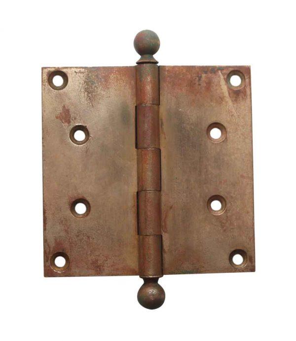 Door Hinges - 4.5 x 4.5 Corbin Harvard Brass Butt Door Hinge