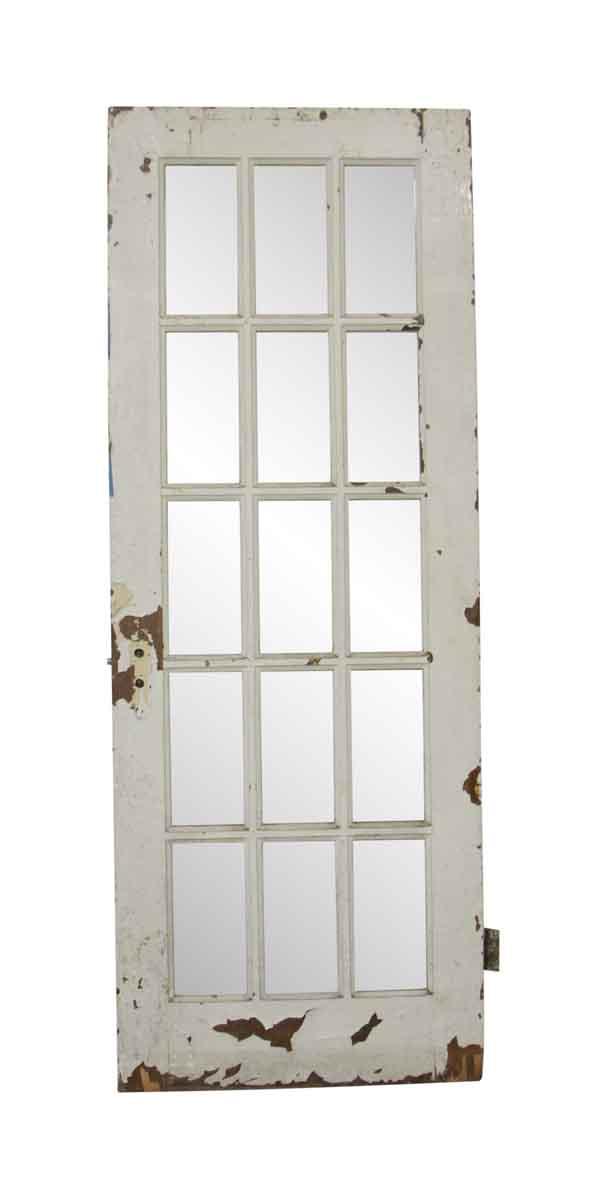 French Doors - 15 Lite French Antique Door 80 x 30