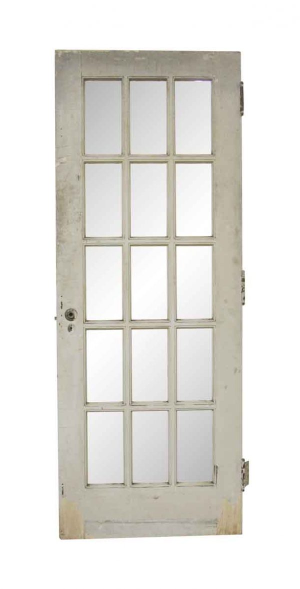 French Doors - Antique 15 Lite French Door 79.75 x 29.875