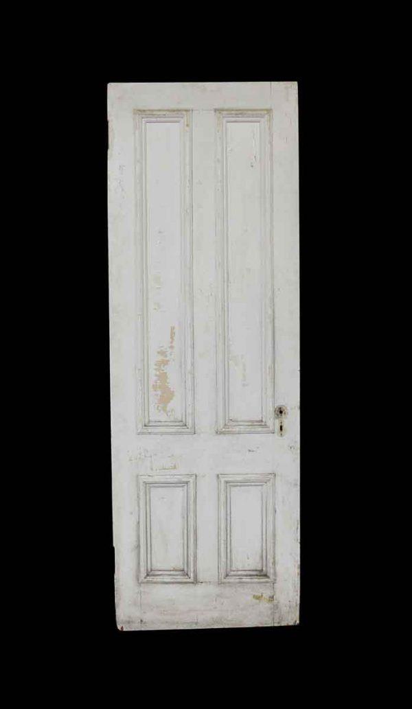 Standard Doors - Antique 4 Panel Pine Passage Door 86.5 x 29.75