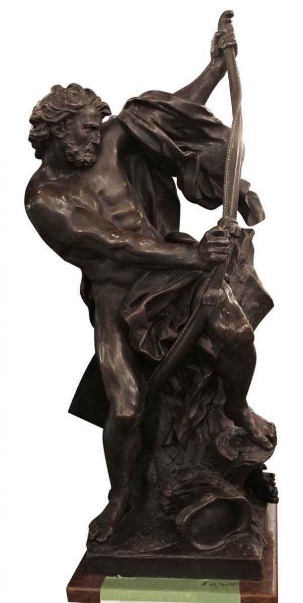 Statues & Sculptures - Bronze Ulysses Bending His Bow Sculpture