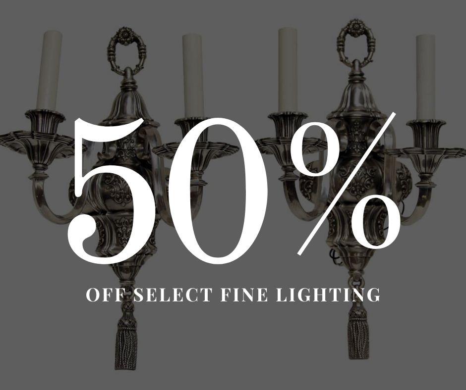 50-percent-off- select-fine-lighting-fi