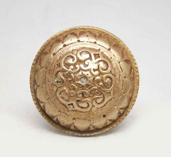 Cabinet & Furniture Knobs - Ornate Four Fold Bronze Drawer Knob