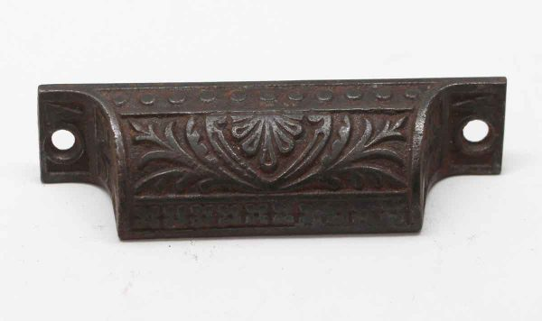 Cabinet & Furniture Pulls - Antique Cast Iron 3.625 in. Aesthetic Bin Pull