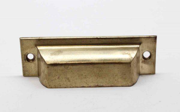 Cabinet & Furniture Pulls - Antique Classic 4 in. Brass Bin Drawer Pull