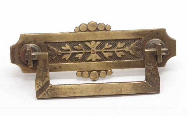Cabinet & Furniture Pulls - Cast Brass Decorative Bail Pull