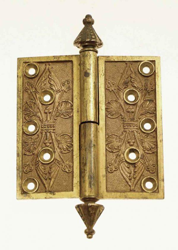 Door Hinges - Aesthetic 4.5 x 4.5 Bronze Butt Antique Door Hinge