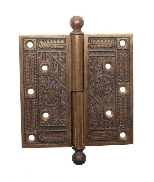 Door Hinges - Antique 5 x 5 Right Hand Bronze Lift Off Door Hinge
