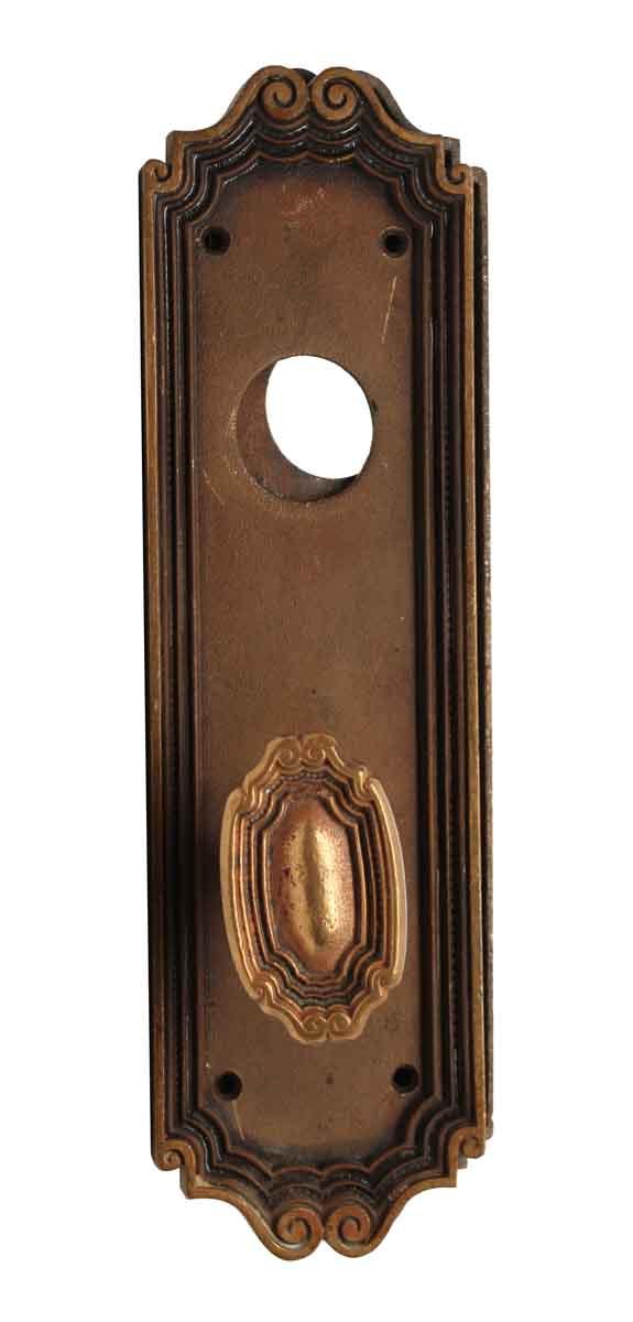 Door Knob Sets - Oval Norwalk Brass Entry Door Knob Set