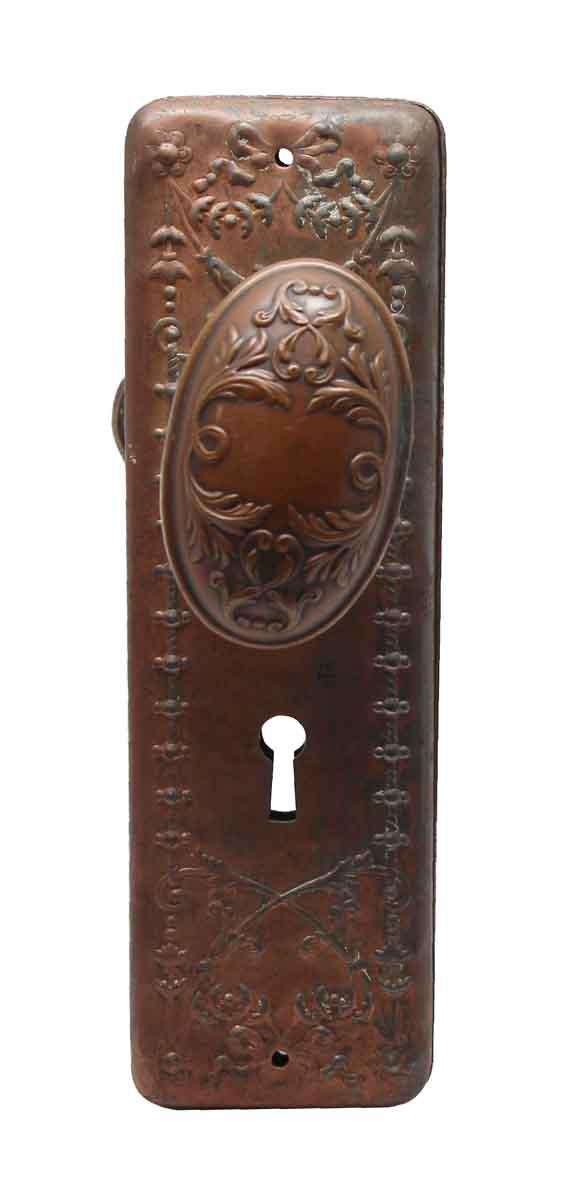 Door Knob Sets - Victorian Yale Arcadian Door Knob Set