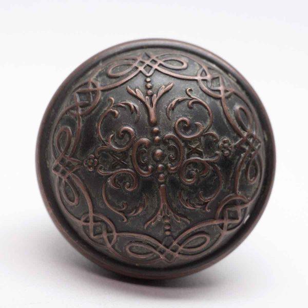 Door Knobs - Antique Branford Cast Iron Door Knob