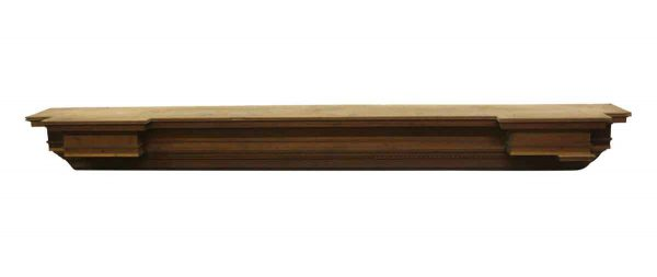 Door Surrounds - Reclaimed 10 Foot Wooden Header with Beaded Trim