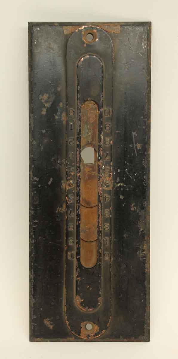 Elevator Hardware - Steel Elevator Plate Part