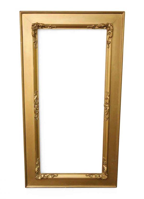 Frames - Ornate Gold Painted Mirror Frame