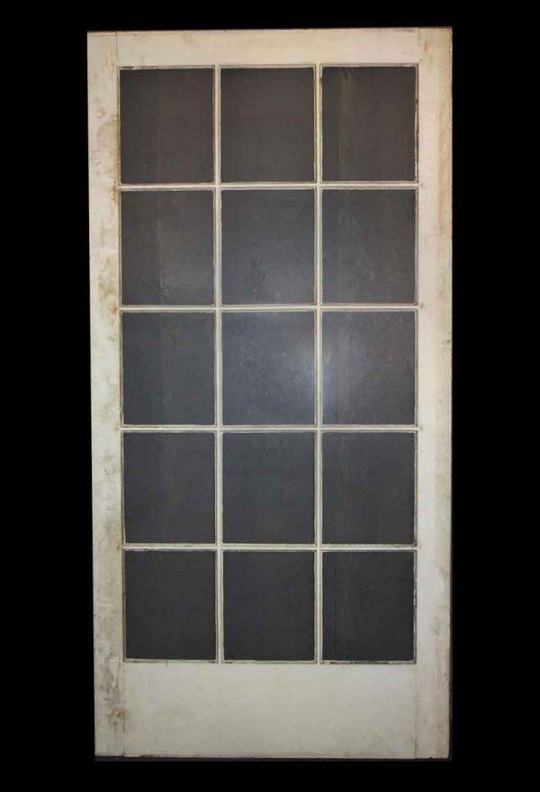 French Doors - Very Wide 15 Lite Antique French Door
