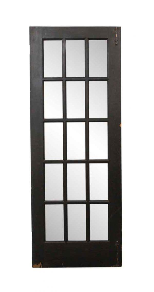 French Doors - Vintage 15 Lite Pine French Door 79.25 x 29.75