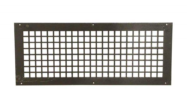 Interior Materials - Reclaimed 27 x 11 Steel Vent Cover