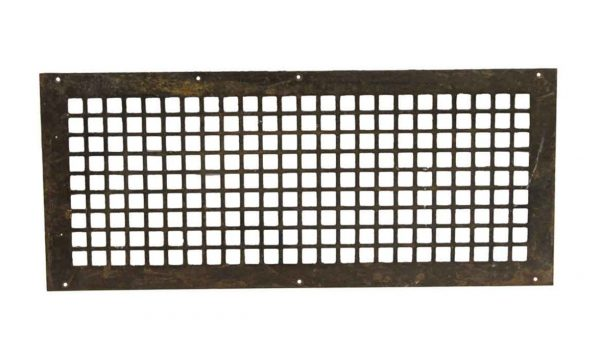 Interior Materials - Reclaimed 28 x 12 Steel Vent Cover