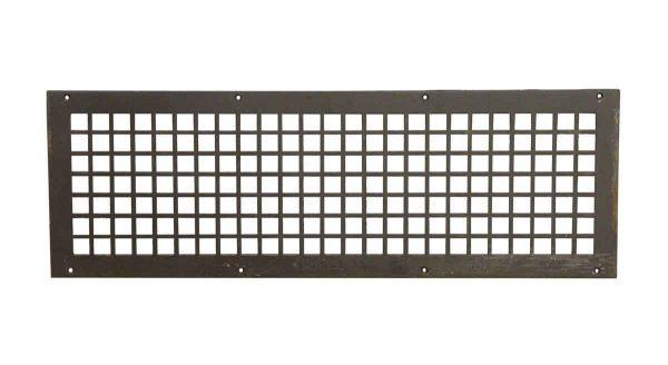 Interior Materials - Reclaimed 28.5 x 9.5 Steel Vent Cover