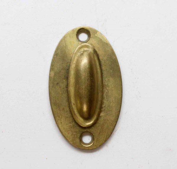 Keyhole Covers - Antique Brass Keyhole Plate with Swinging Draft Cover