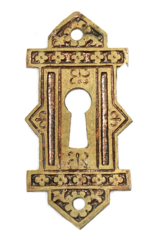 Keyhole Covers - Ornate Bronze Eastlake Keyhole Cover
