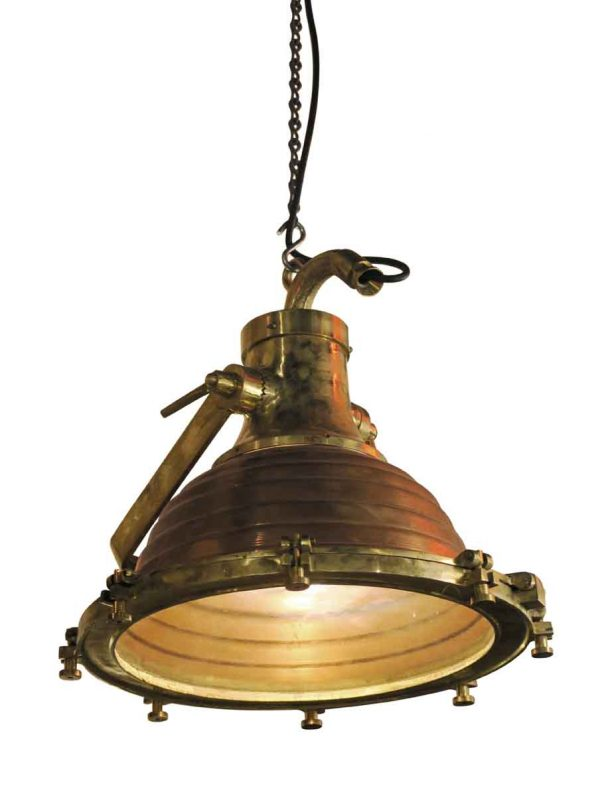 Nautical Lighting - Nautical Brass Ship Fox Light