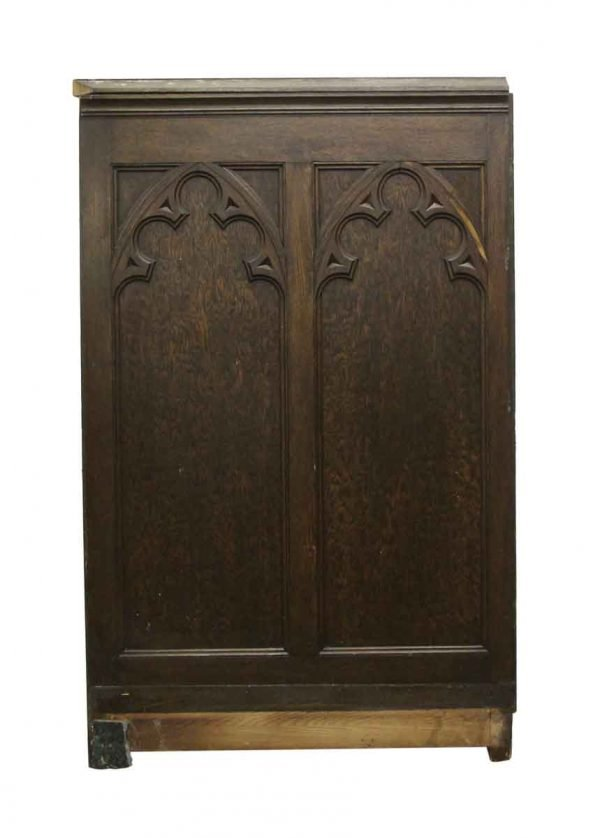 Paneled Rooms & Wainscoting - Antique Gothic Style Wooden Paneling Lot