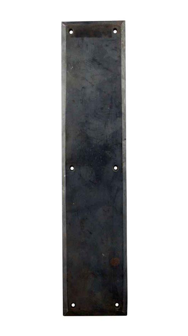 Push Plates - Antique Bronze Push Plate