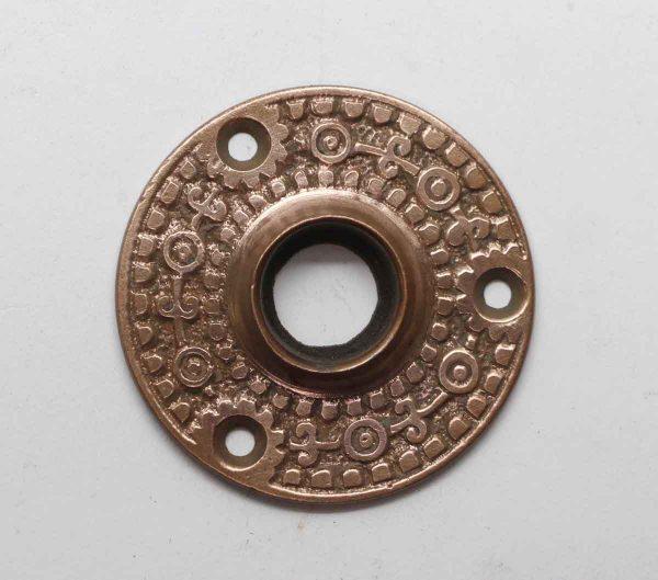 Rosettes - Antique Beaded Bronze 2 in. Door Rosette