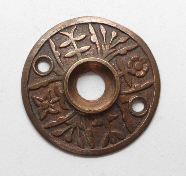 Rosettes - Antique Leaf Bronze 2 in. Door Rosette
