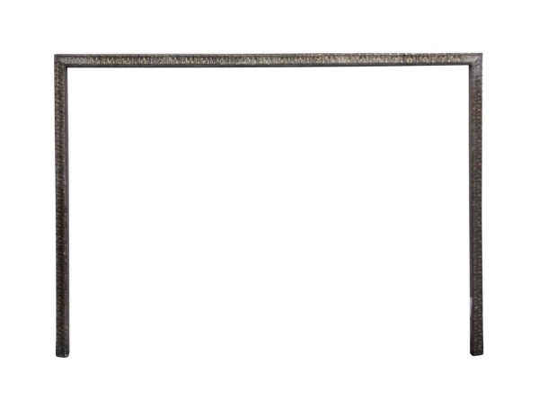 Screens & Covers - Antique Ornate Brass Fireplace Trim with Acanthus Leaf Detail