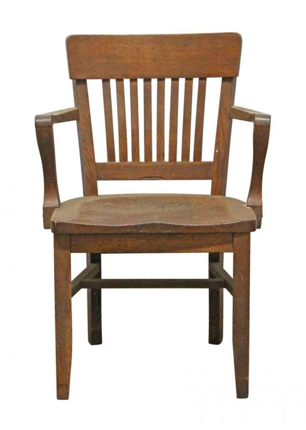 Seating - Antique Oak Banker Chair