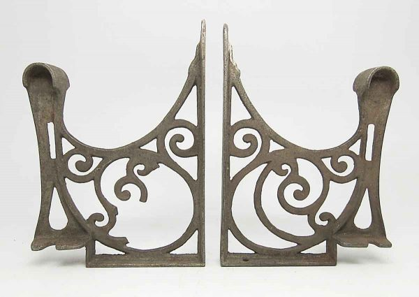 Shelf & Sign Brackets - Pair of Ornate Brackets