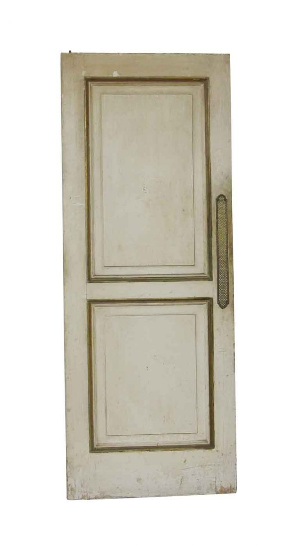 Standard Doors - Antique 2 Pane Wooden Swinging Door 84.25 x 32