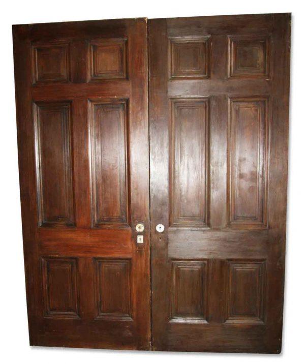 Standard Doors - Old 6 Panel Passage Double Doors 88.5 x 71.5