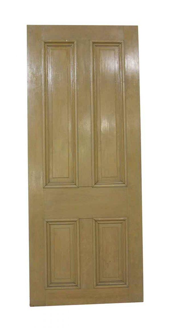 Standard Doors - Vintage Cypress 4 Panel Passage Door 88.5 x 35
