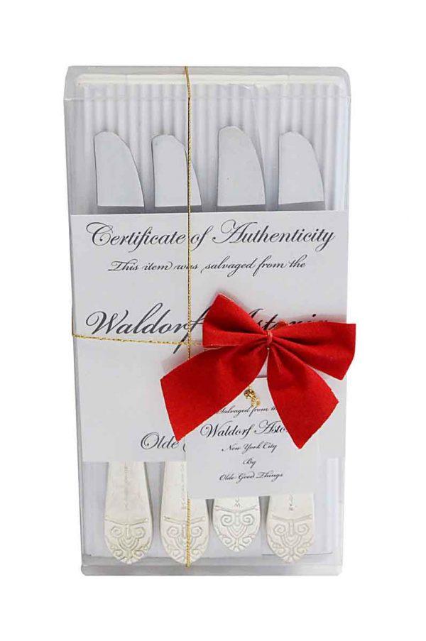Waldorf Astoria - Waldorf 8 Piece Art Deco Butter Knife Gift Set